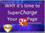 Supercharge Your G+ page screenshot